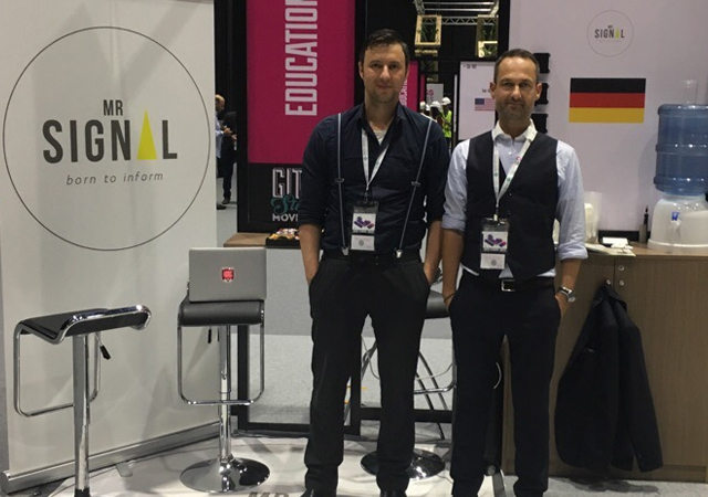 Mr.Signal at GITEX in Dubai
